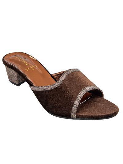 Brown Women Heels LLS-071