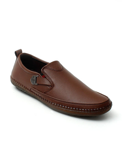 Brown Men Casual Shoes GLS-106