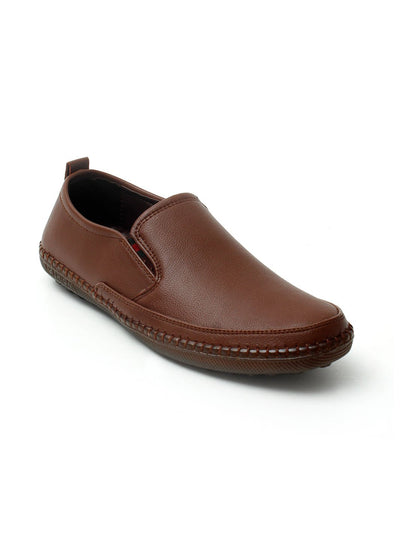 Brown Men Casual Shoes GLS-107