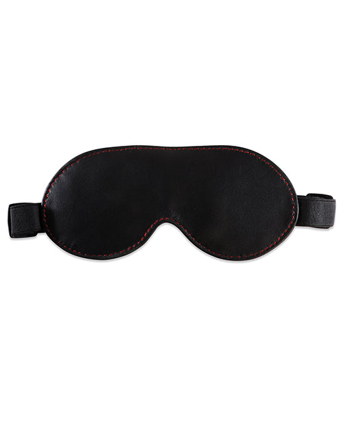 Sultra Lambskin Blindfold - Black
