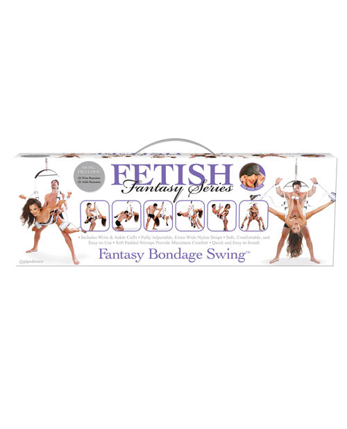 Fetish Fantasy Series Bondage Swing - White