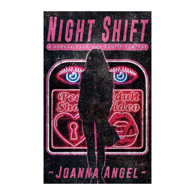Cleis Press-Night Shift: A Choose-Your-Own Erotic Fantasy-BOOKS