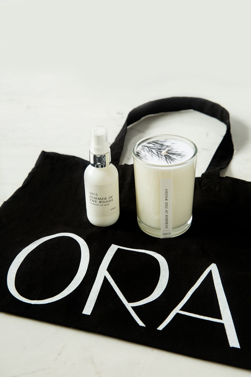 ORA custom scent. Mother's Day gift.  Aromotherapy candle and spray