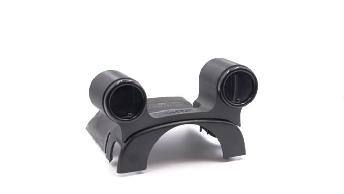 Steering Wheel Dual Gauge Pod