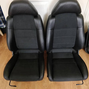 Custom Leather & Alcantara Seat Covers