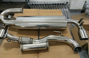 TCS Motorsports Single Muffler Exhaust System PRE-ORDER