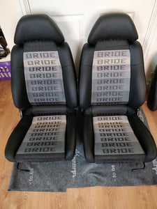 "Custom ""Bride"" Seat Covers"