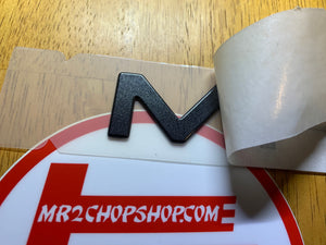 "OEM Rear 94-99 Center Panel ""MR2"" Emblem"