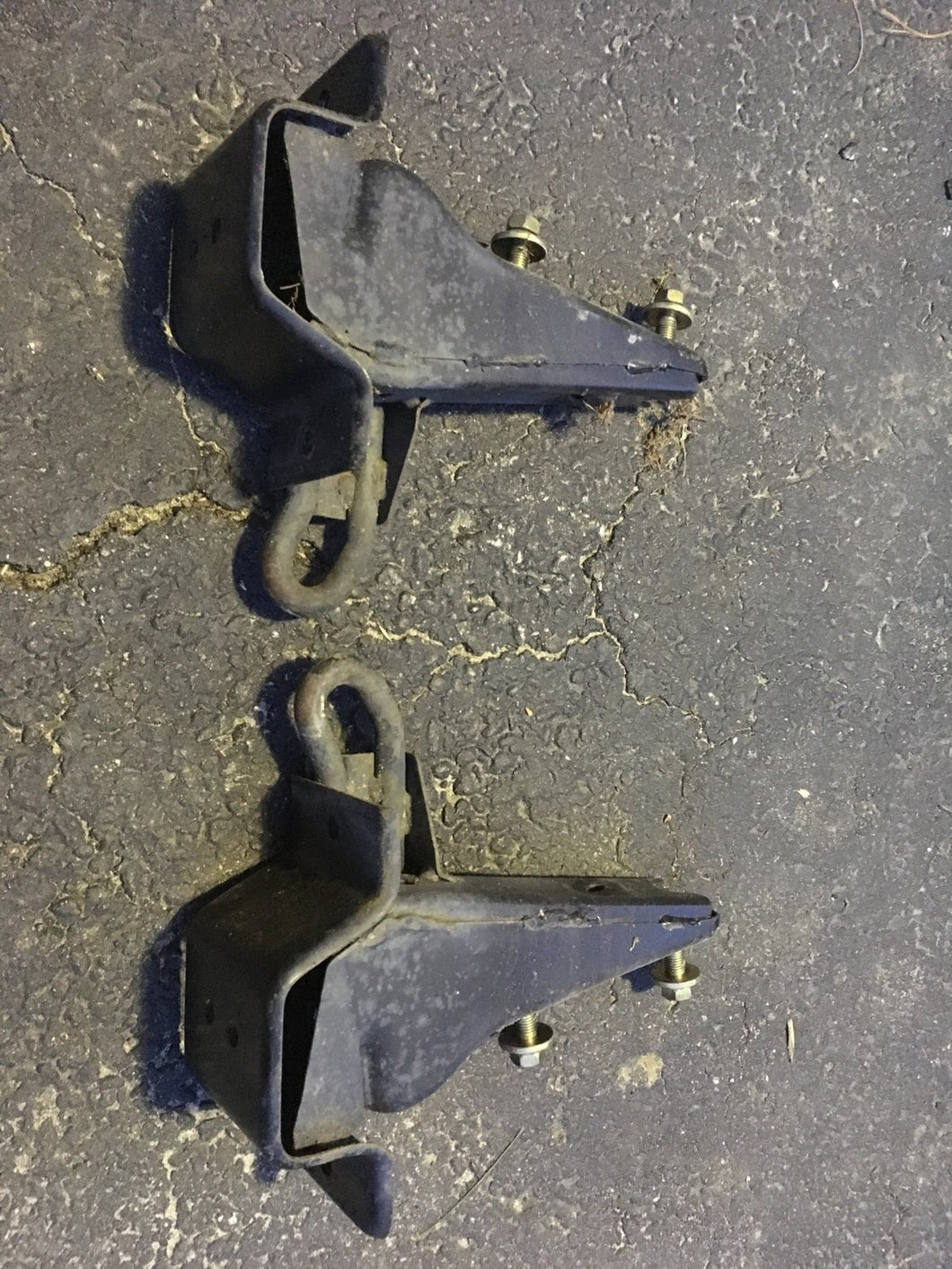 Rear Bumper Crash Bar Mounts