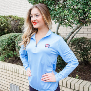 Blue Athletic Quarter Zip