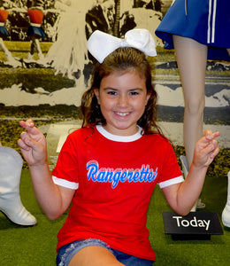 Youth Red Rangerette Shirt