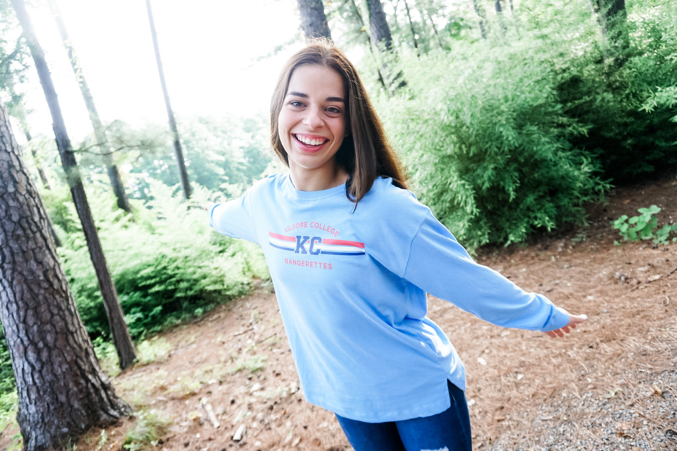 Power Blue Long Sleeve