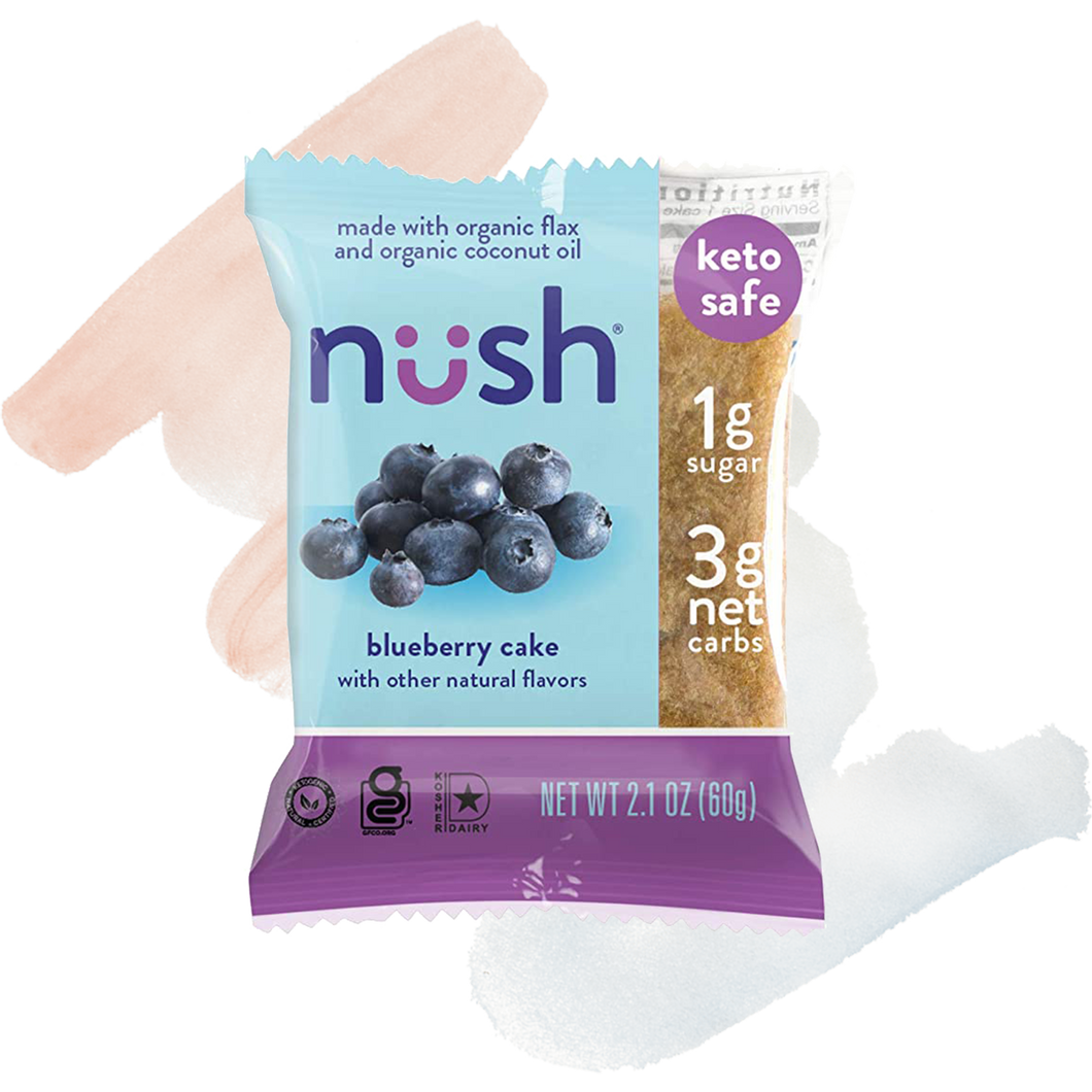 Nush Blueberry Cake