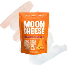 Load image into Gallery viewer, Moon Cheese Cheddar -2oz