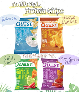 Quest Protein Chips Chilli Lime 辣椒青檸蛋白薯片