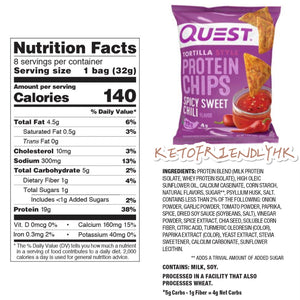 Quest Protein Chips Spicy Sweet Chili