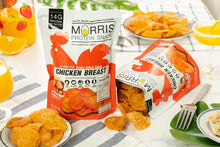 Load image into Gallery viewer, Morris Crispy Baked Chicken Breast Chips 香口零碳水雞胸肉脆片