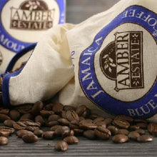 Load image into Gallery viewer, Amber Estate Jamaican Blue Mountain Roasted & Ground (8oz)