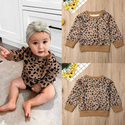 Toddler Leopard Sweater
