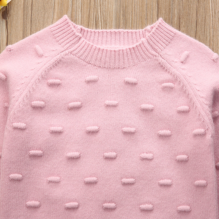 Cotton Pom Sweater