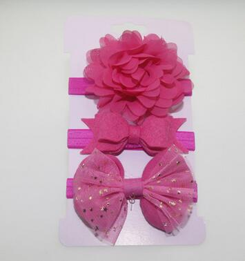 Elastic Flower Headband