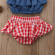 Plaid Red Set