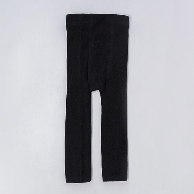 Cotton Ribbed Leggings