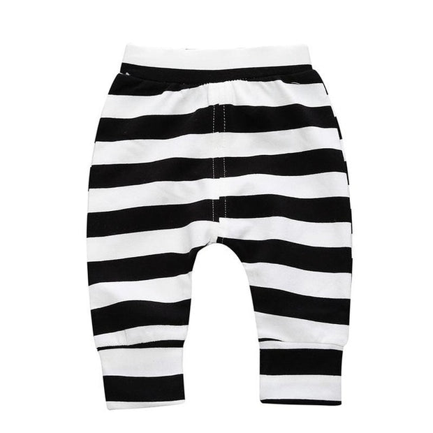 Striped Spring Leggings