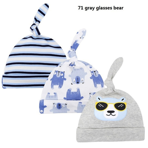 3pcs/lot Baby Hats