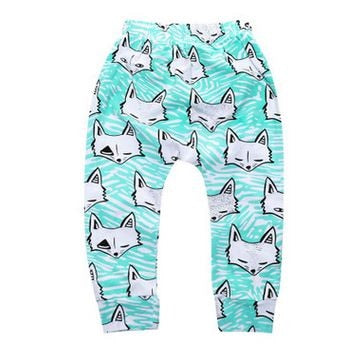 Animal Patterned Pants