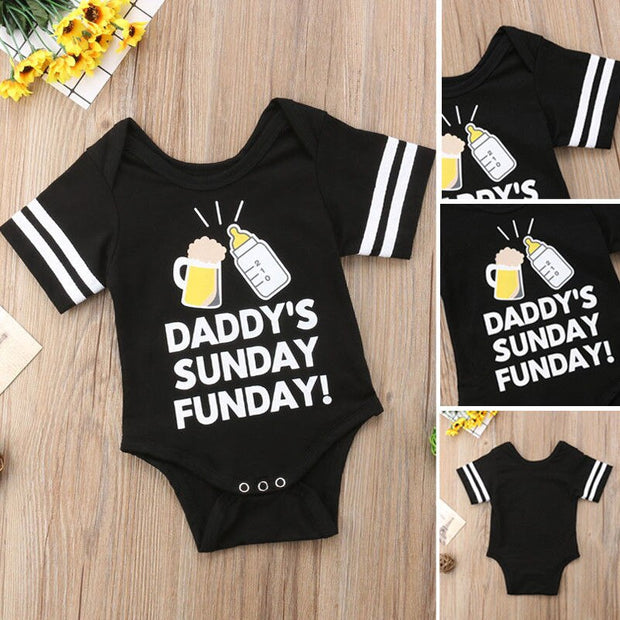 Daddy's Sunday Funday Romper