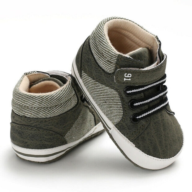 Kids Leather Sneakers