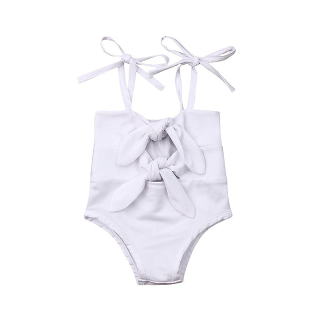 Girls Bow-Knot Swimsuit