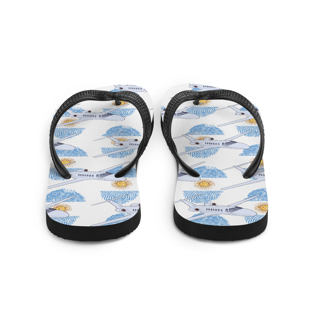 Argentina - Cool Private Jet Flip Flops