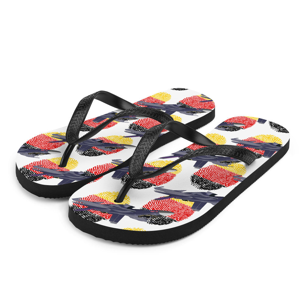 Germany - Cool Air Force Aircraft Flip Flops