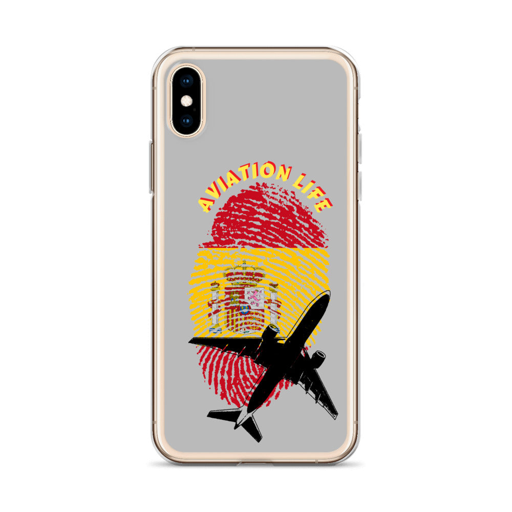 Spain - Aviation Life iPhone Case