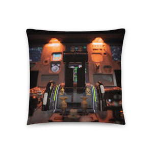 Airbus Throw Pillow