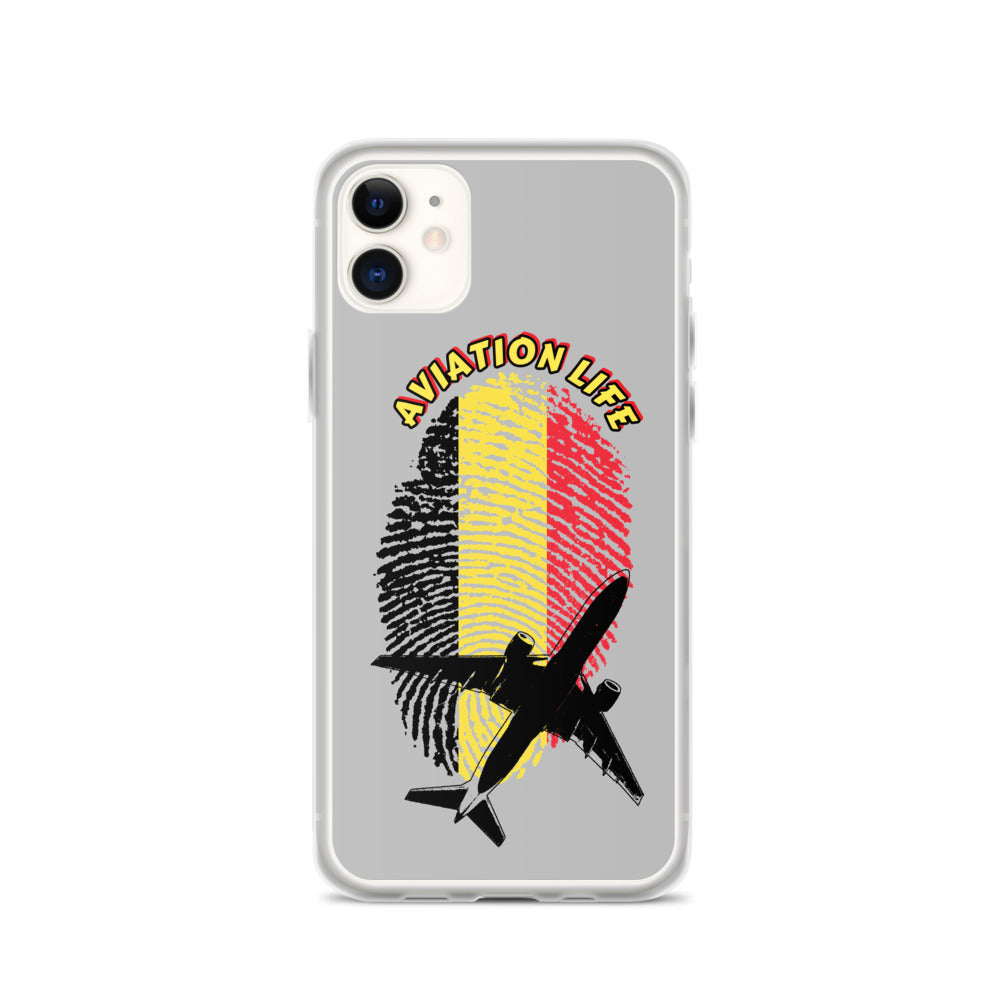 Belgium - Aviation Life iPhone Case