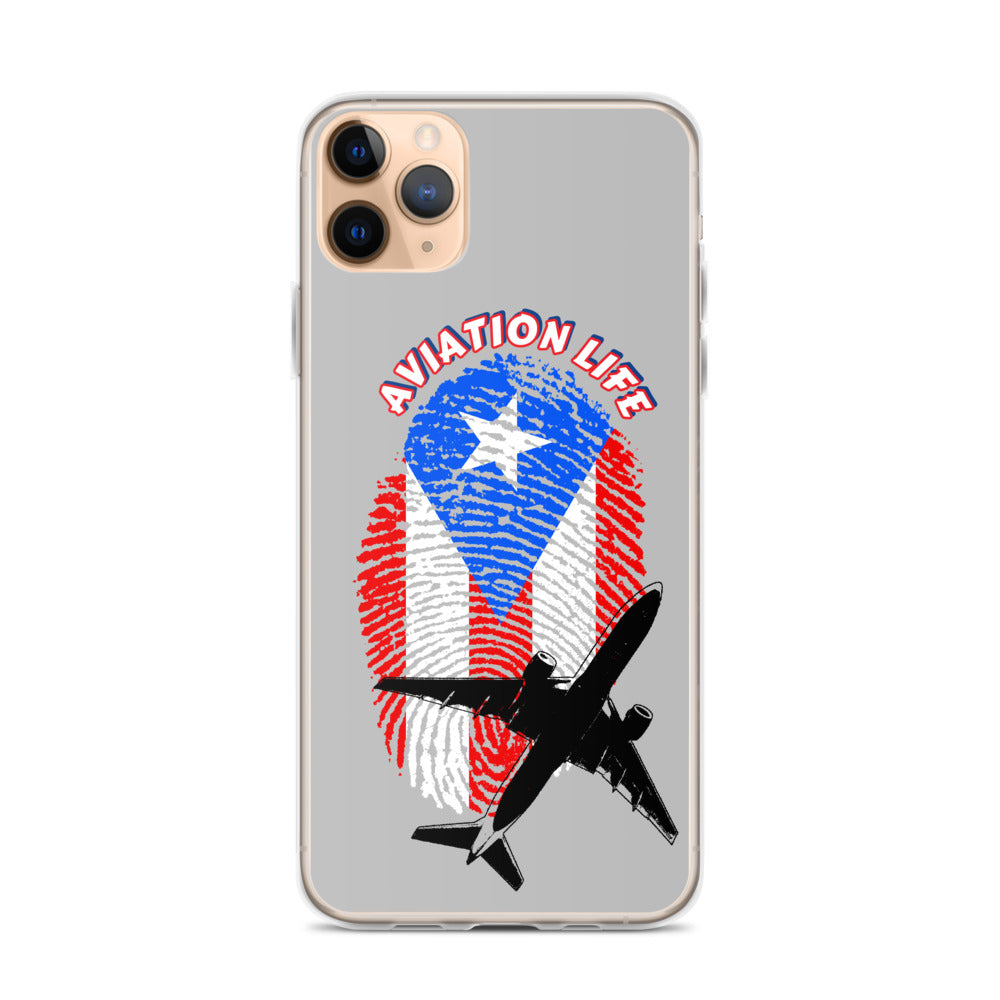 Puerto Rico - Aviation Life iPhone Case