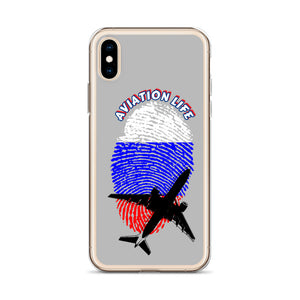 Russia - Aviation Life iPhone Case