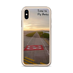 Time to Fly Away - iPhone Case