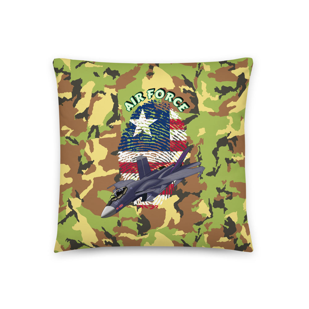 Air Force - Throw Pillow