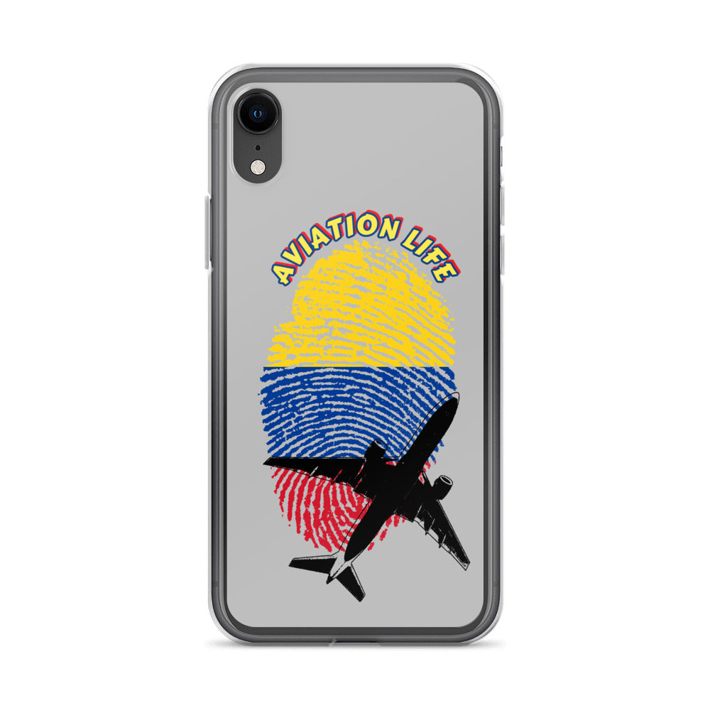 Colombia - Aviation Life iPhone Case