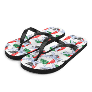 UAE - Cool Twin Engine Aircraft Flip Flops