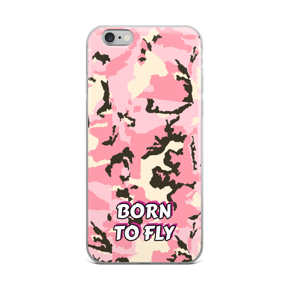 Born To Fly Away - iPhone Case