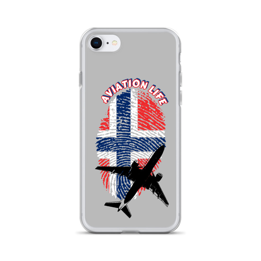 Norway - Aviation Life iPhone Case