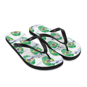 Brazil - Cool Private Jet Flip Flops