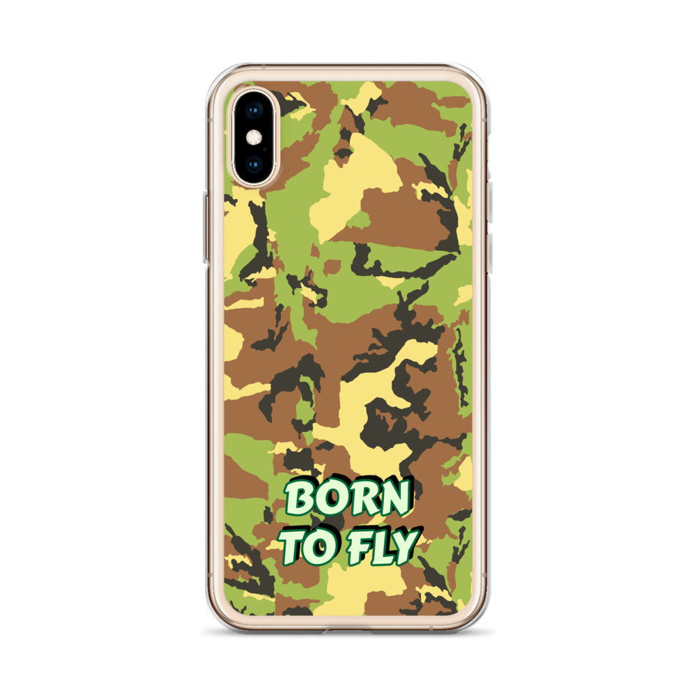Born To Fly - iPhone Case