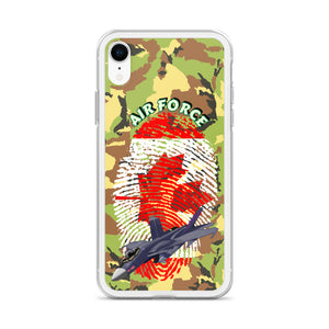 Canada Air Force iPhone Case