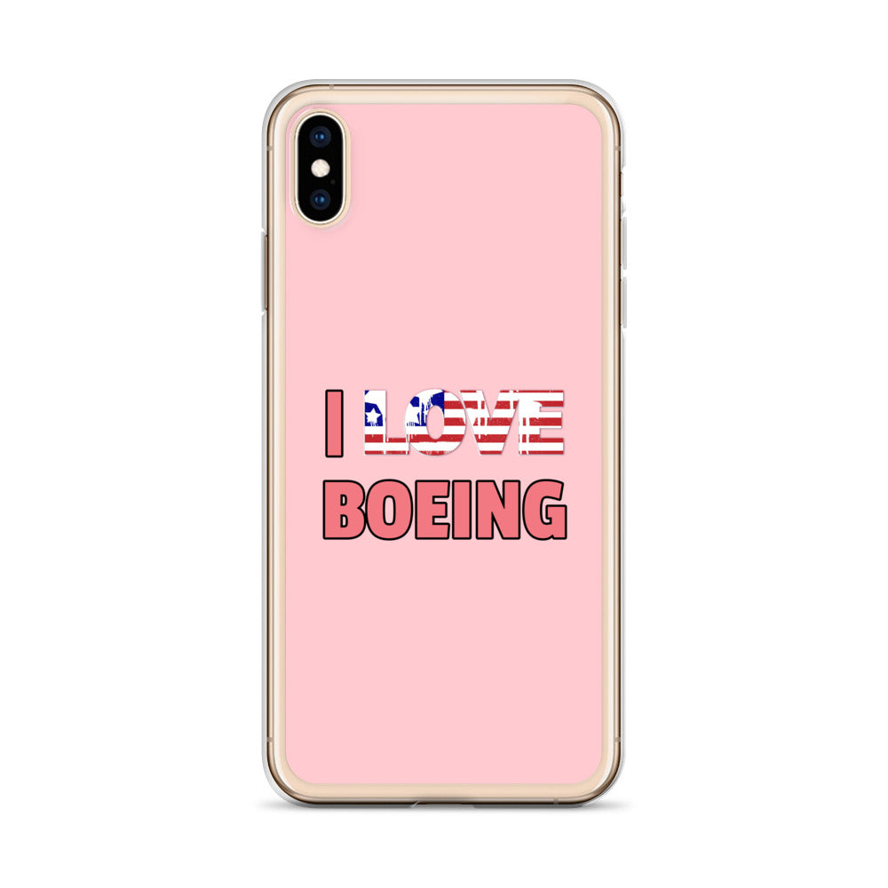 I Love Boeing - iPhone Case